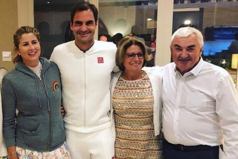 Federer y cómo sus padres dudaban que lograra ser un tenista profesional