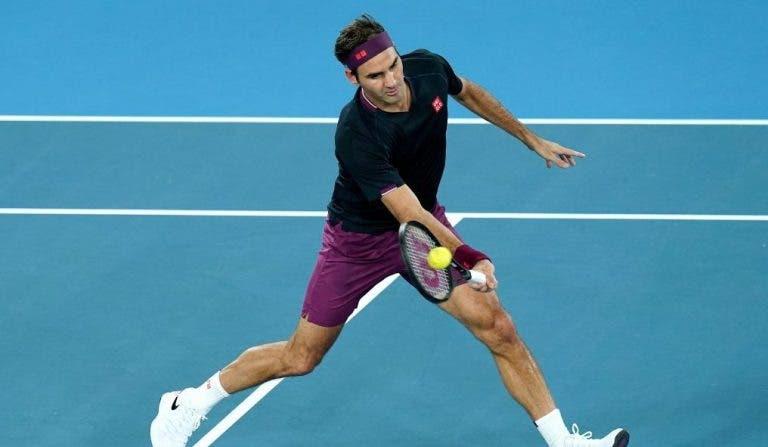 Federer planea regresar con un torneo previo al Open de Australia en 2021