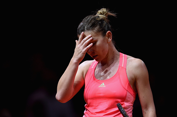 Simona Halep está en riesgo de perderse el WTA de Palermo