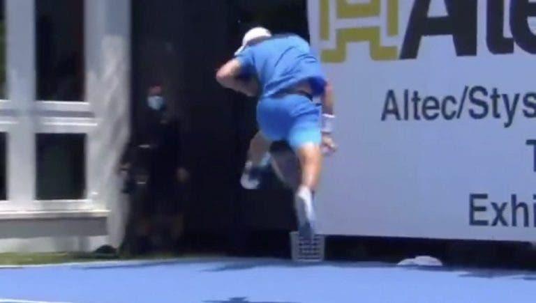 [VIDEO] Hurkacz realiza uno de los mejores puntos del año