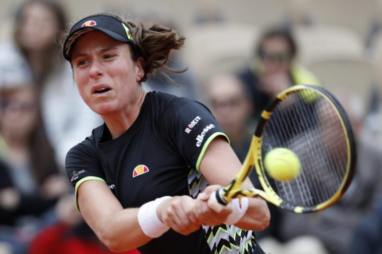 Johanna Konta dice no al WTA de Palermo y tal vez al US Open