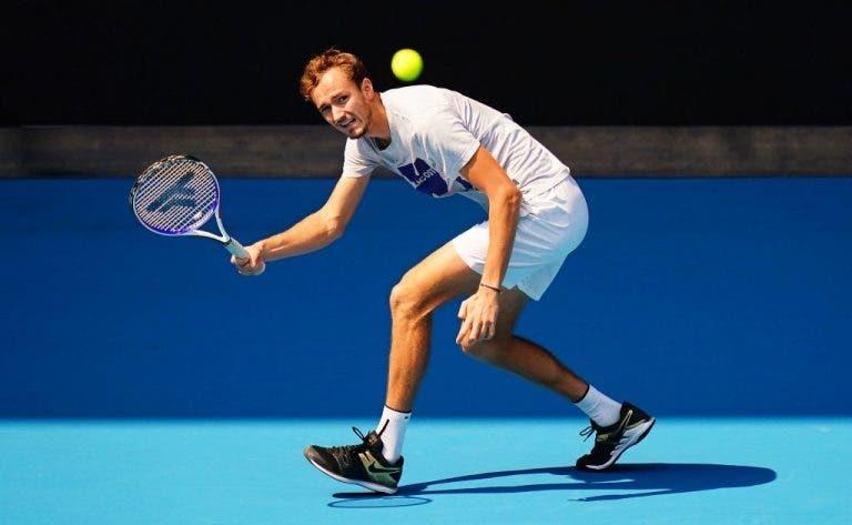 Medvedev y lo extraño que será jugar la sesión nocturna del US Open