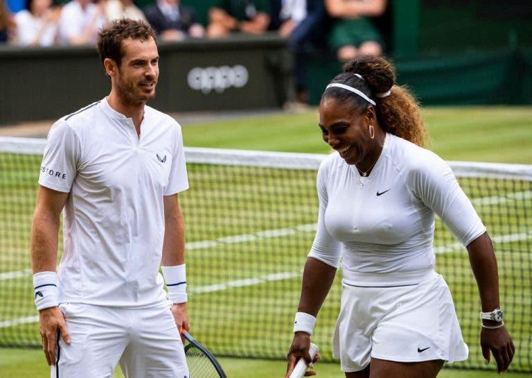 Andy Murray cree que debería haber más torneos de dobles mixtos