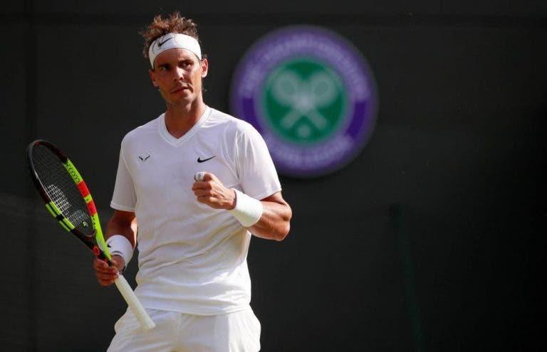 Nadal en Wimbledon: «En la semifinal contra Federer no estuve a mi mejor nivel»