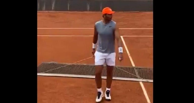 [VIDEO] El gesto de Rafael Nadal que se hace viral