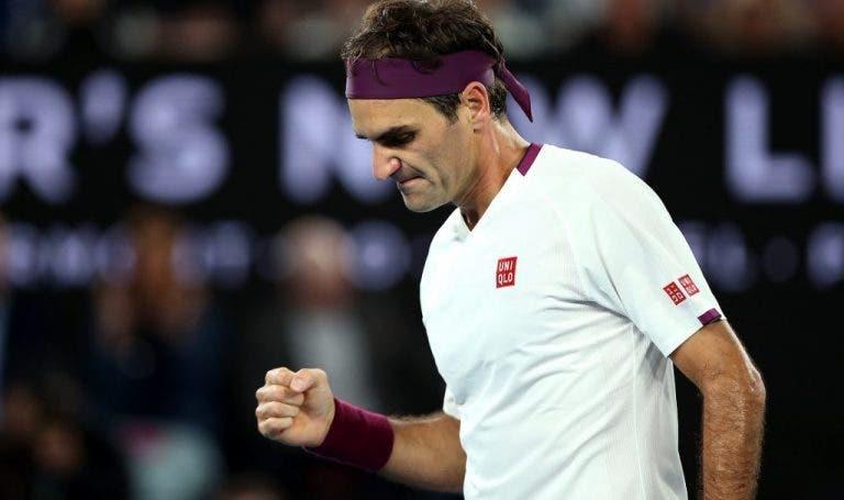 Roger Federer dice que seguirá jugando al tenis sin importar su edad