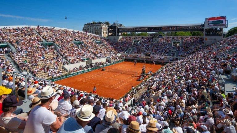 Roland Garros recibirá a 20.000 personas en su primer día