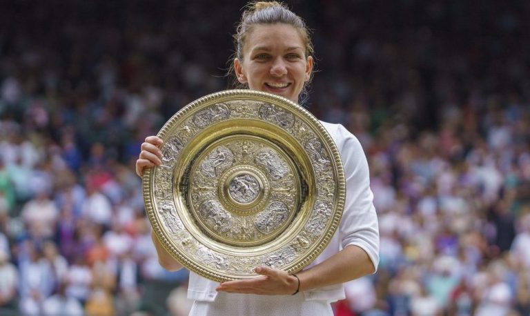 Simona Halep dice que nunca se atrevió a pensar que ganaría Wimbledon
