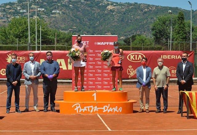 Sara Sorribes: campeona de la 1° edición de la Liga MAPFRE de Tenis Femenina