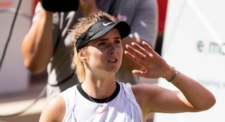 Elina Svitolina anuncia que no planea jugar en el US Open