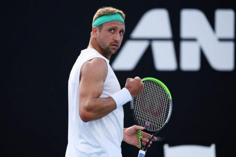 Tennys Sandgren vence en el Altec Styslinger Tennis Exhibition