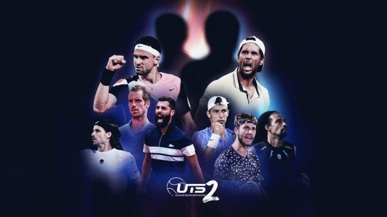 Aquí los grupos de la segunda edición del Ultimate Tennis Showdown