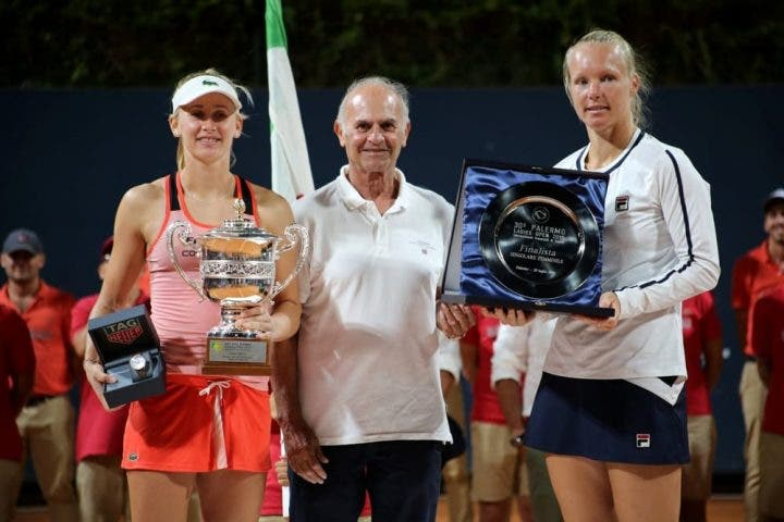 Se celebra el WTA de Palermo aunque con pérdidas económicas