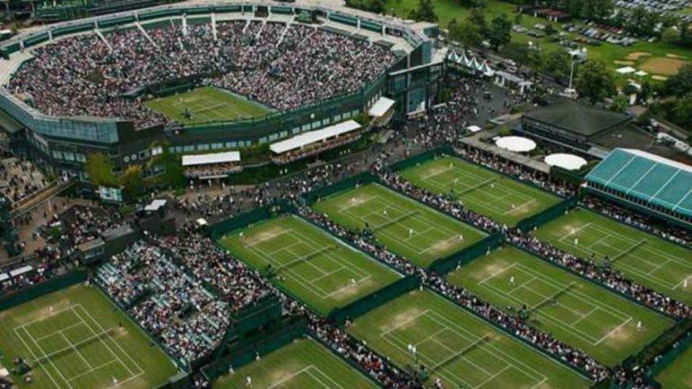 Wimbledon compensará económicamente a tenistas y trabajadores
