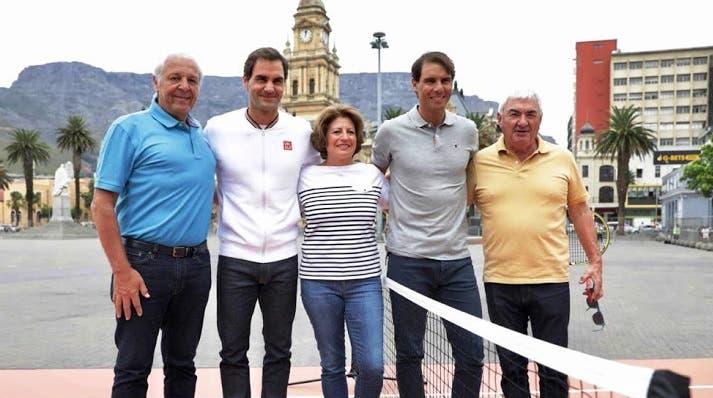 Rafael Nadal: «El padre de Federer es fenomenal»