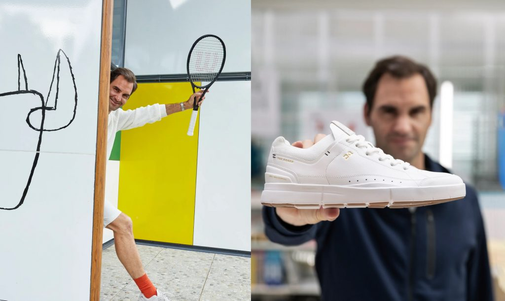 The Roger: Federer lanza su línea de zapatos en un día especial