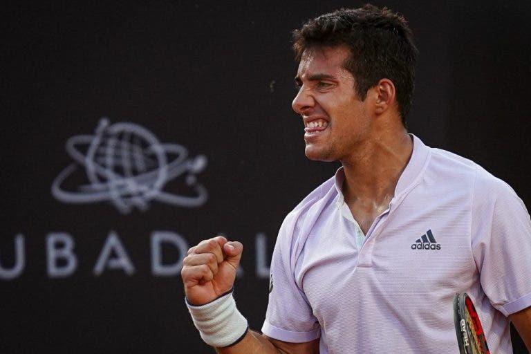 Cristian Garin habla de los tenistas que lo inspiran en su carrera