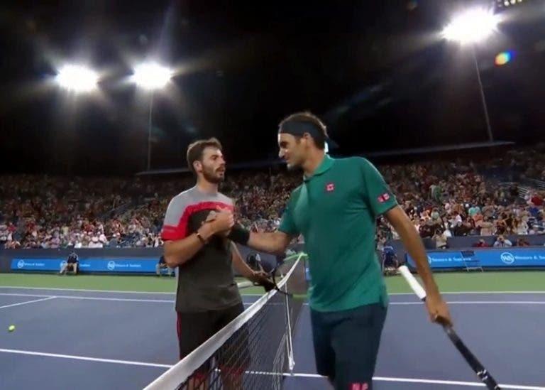Juan Ignacio Londero habla de la admiración que siente por Roger Federer