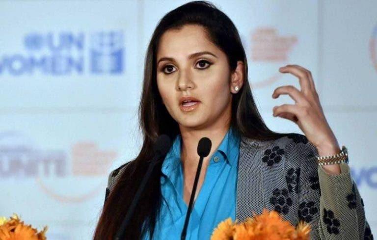 Sania Mirza: «No entiendo cómo se puede siquiera pensar en competir»