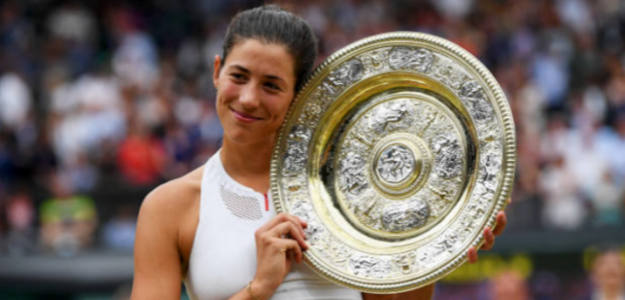Muguruza recuerda su triunfo en Wimbledon: «Sensación insuperable»