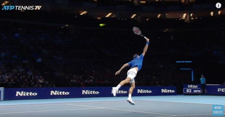 [VIDEO] Cuando el tenis deja de ser un deporte  y se convierte en arte