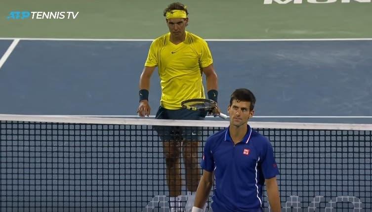 [VIDEO] Algunos momentos en que los tenistas se golpearon entre ellos