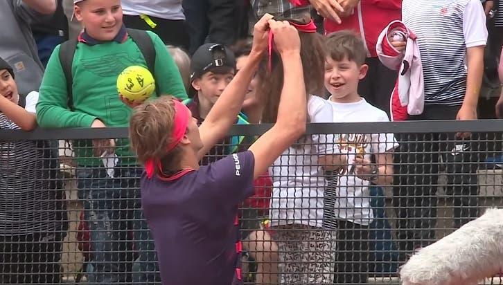 [VIDEO] Diez mejores interacciones de los tenistas con el público