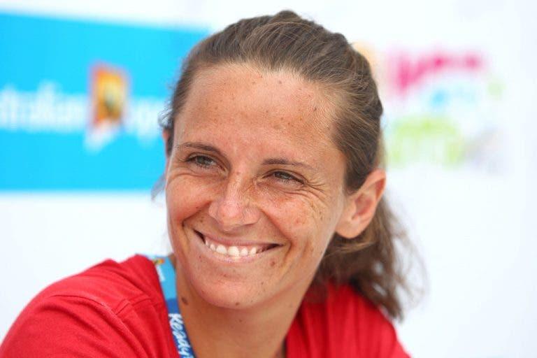 Roberta Vinci: «Me gustaría entrenar a Garbiñe Muguruza»