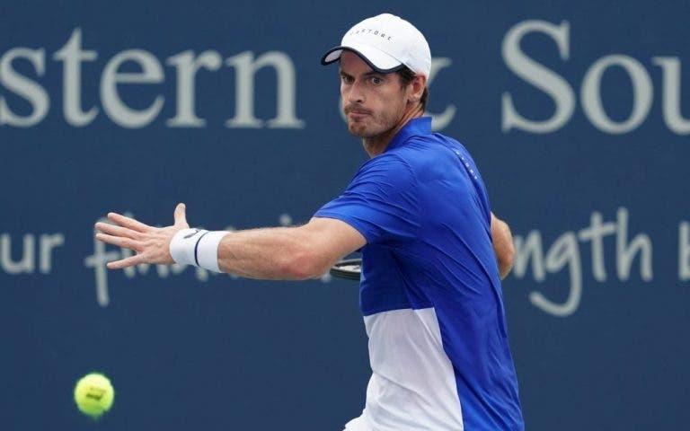 Andy Murray está a un paso de entrar al cuadro principal del US Open