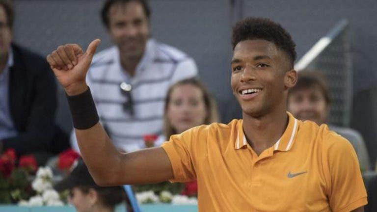 Auger Aliassime quiere inspirar a los niños para que les guste el tenis