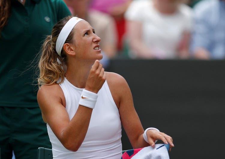 Azarenka denuncia la falta de higiene de otros tenistas en Nueva York