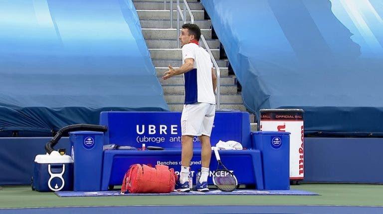 Bautista Agut dice que decisiones de Graff lo perjudicaron en la semifinal