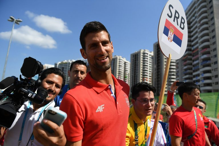 Medallista olímpica cuenta la impresión que tuvo de Djokovic cuando lo conoció
