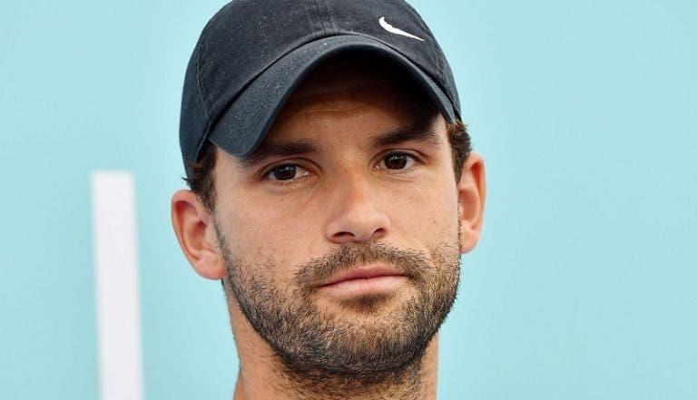 Dimitrov se retira del Masters de Cincinnati, pero jugará el US Open