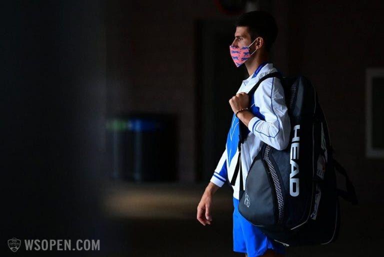 Djokovic habla sobre su cuello y la velocidad de las pistas en Nueva York