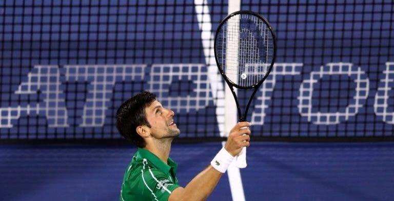 Djokovic superará a Sampras en el número de semanas en la cima del ranking