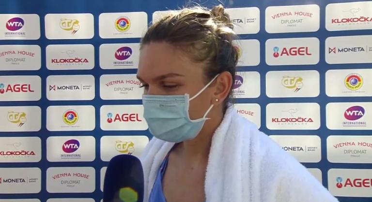 Simona Halep dice que mañana tomará una decisión sobre el US Open