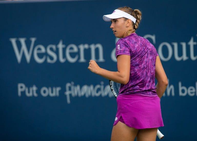 Elise Mertens avanza a las semifinales del WTA Premier 5 de Cincinnati