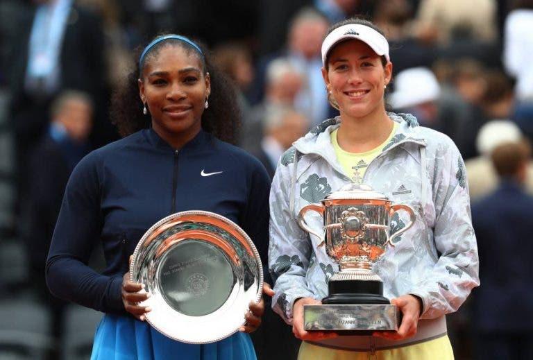 Muguruza sobre Serena Williams: «Ella es una leyenda»