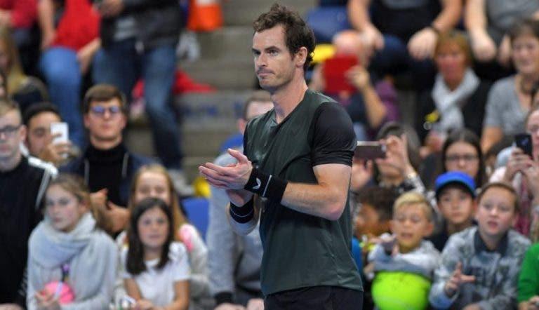 Murray celebra que hace cuatro años ganó su segundo oro olímpico