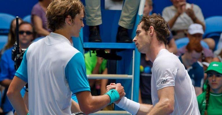 Murray dice que su encuentro ante Zverev será una gran prueba