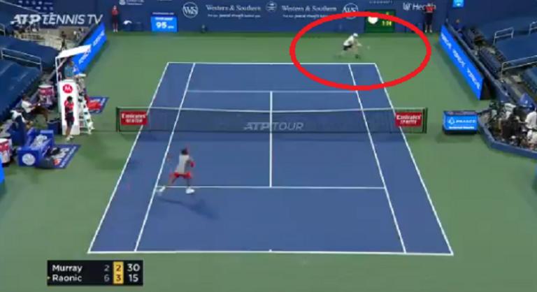 [VIDEO] Murray perdió, pero realizó el mejor punto del partido