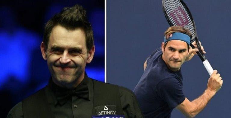 Ronnie O'Sullivan se compara con Roger Federer y Tiger Woods