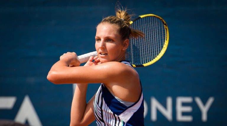 Pliskova no entiende por qué deben usar mascarillas en el WTA de Praga