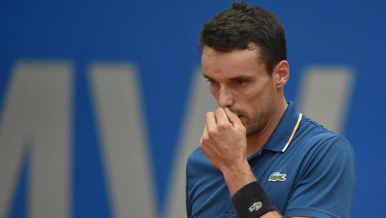 Bautista Agut dice que le molestó perder ante Novak Djokovic