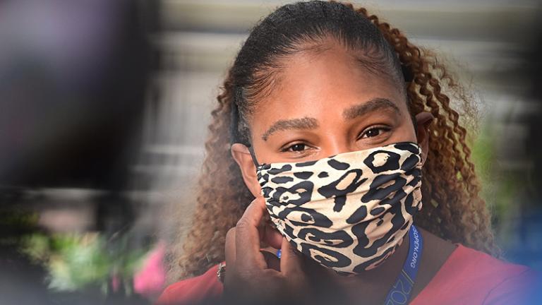 Serena Williams está feliz con todas las medidas de seguridad de la USTA