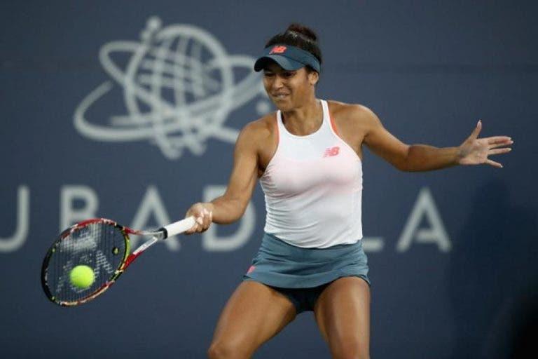 Watson, derrotada en la primera ronda del WTA Premier 5 de Cincinnati