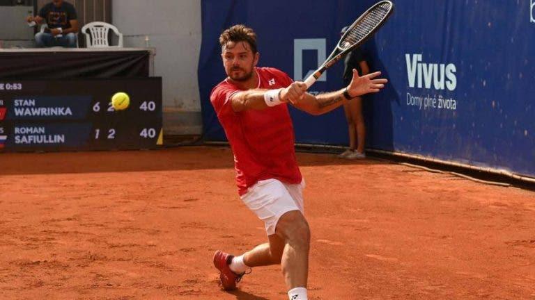 Stan Wawrinka avanza a la final del Challenger de Praga