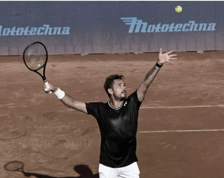 Wawrinka vence a Nagal y ya está en las semifinales de Praga