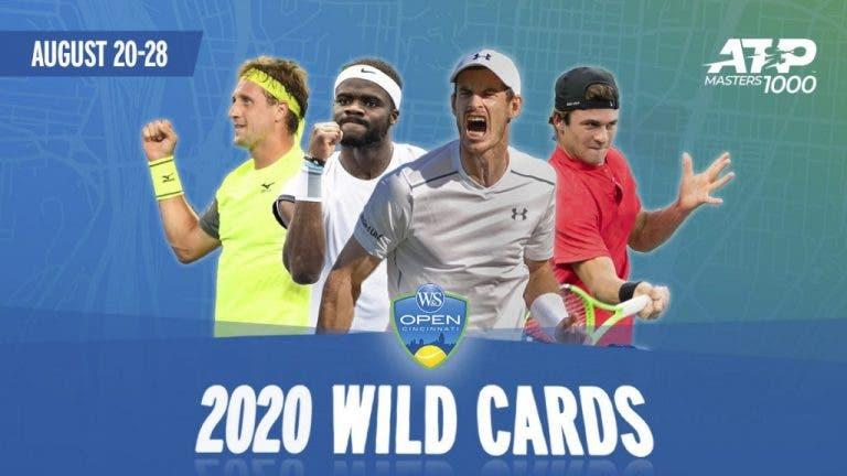 Conoce los wild cards de la edición 2020 del Masters 1000 de Cincinnati